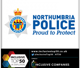 Northumbria Police Confirm Participation in The Inclusive Companies Membership 2018