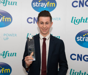NDA18 Shortlisted nominee Cameron Osburn wins Sporting Achievement Award at the Children of courage awards!