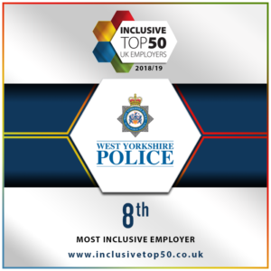 West Yorkshire Police | Ranked No.8 – Inclusive Top 50 UK Employers 2018/19