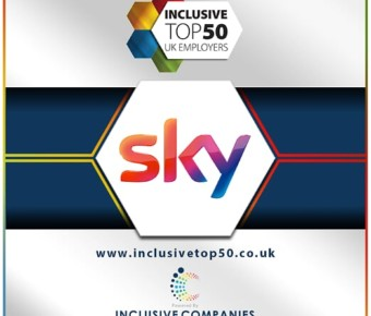Inclusive Companies Member – Sky feature in the Diversity Super League