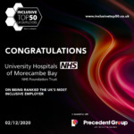 Morecambe Bay hospitals trust voted UK's most inclusive employer