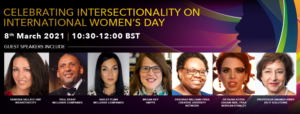 Online Event: Celebrating Intersectionality on International Women's Day