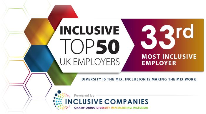 Inclusive Top 50 UK Employer