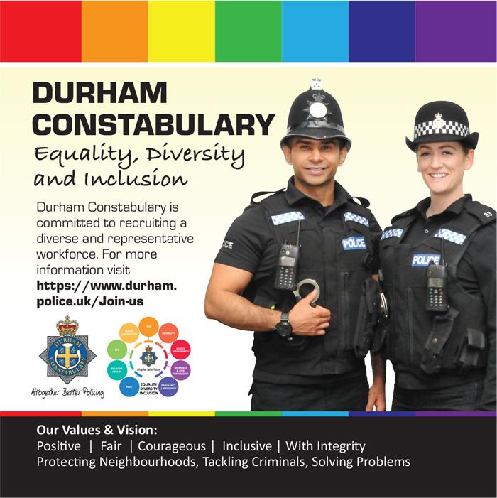 Durham Police Equality Advert
