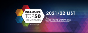 Virtual Event: Official Announcement of The Inclusive Top 50 UK Employers List @ Online Event